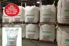 SUPERMIN® is now available in 1 Tonne and 25KG bags