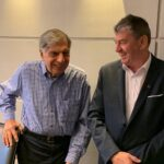 Ratan Tata and Mark Williams Mumbai India 2019-2020